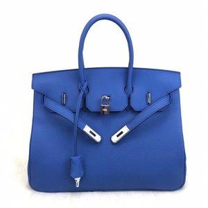 Hermes Birkin Workship Leather Handbag